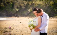 beach wedding photography at Coffs Harbour