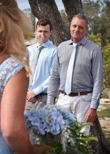 ceremony at nambucca golf course