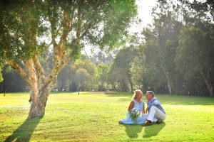 couple at nambucca golf course